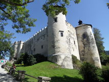 Niedzica castle, Poland royalty free stock image