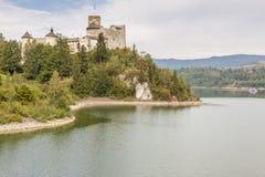 Niedzica castle - Poland. Stock Image