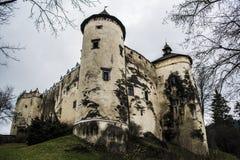 Niedzica castle, Poland. Niedzica medieval castle in Poland Royalty Free Stock Photos