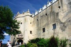 Niedzica Castle. The ruins of the historic castle in Niedzica (Pieniny, Poland Stock Photos