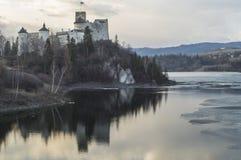 Niedzica Castle Royalty Free Stock Photos