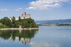 Niedzica castle. Sunny summer day. Stock Image