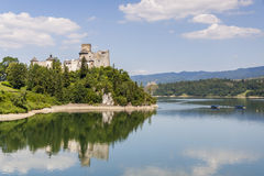 Niedzica castle. Sunny summer day. Stock Photo