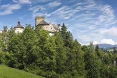 NIEDZICA, POLAND - JUNE 21: Medieval Castle in Niedzica, Poland Stock Photo