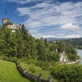 NIEDZICA, POLAND - JUNE 21: Medieval Castle in Niedzica, Poland Stock Images