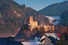 Niedzica-Schloss Lizenzfreie Stockbilder