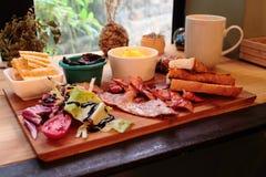 Niedziela śniadanio-lunch Fotografia Royalty Free