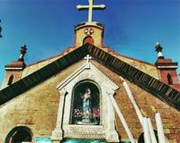 Niedziela kościół Zdjęcia Stock