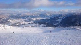 Śnieg i góra Fotografia Royalty Free