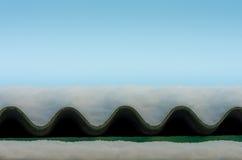 Śnieg na dachu Obraz Royalty Free