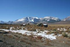 Śnieg na Sierra Nevada pasmo Califiornia Obraz Royalty Free