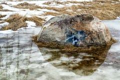śnieg topnienia Obraz Stock