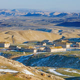 Śnieg w Uroczystych Caucausis górach Obraz Royalty Free
