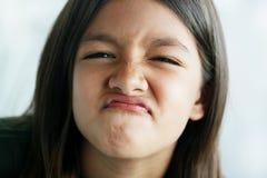 niegrzeczną twarz Obrazy Royalty Free