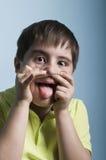 Niegrzeczna chłopiec Zdjęcie Royalty Free