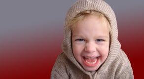 niegrzeczna dziewczynka Fotografia Stock