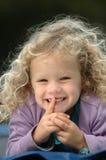 niegrzeczna dziewczynka Fotografia Royalty Free