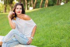 niegrzeczna dziewczynka Zdjęcia Stock