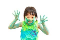 niegrzeczna dziewczynka Obraz Royalty Free