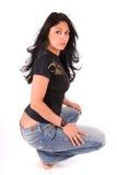 niegrzeczna dziewczynka seksowna Zdjęcie Royalty Free