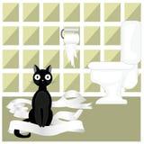 Niegrzeczny kot Zdjęcie Stock