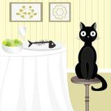 Niegrzeczny kot 3 Fotografia Stock