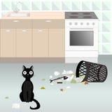 Niegrzeczny kot 5 Zdjęcie Stock