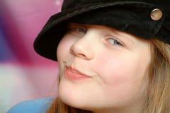 niegrzeczny złośliwy słodką dziewczynę obraz royalty free
