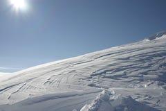 śniegu 1 wiatr zdjęcia stock