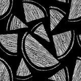 Niekończący się arbuza wzór, bezszwowy owocowy tło Abstrakt Fotografia Stock