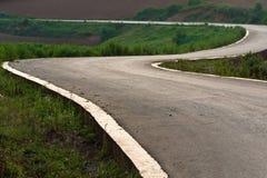 niekończący się droga zdjęcie royalty free