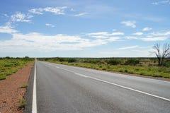 niekończący się droga Zdjęcia Stock