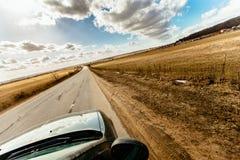 Niekończący się droga Zdjęcie Stock