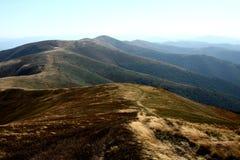 Niekończący się góry Obraz Royalty Free