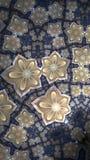 Niekończący się kwiat płytki fractal fotografia royalty free