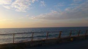 niekończący się ocean Zdjęcie Royalty Free