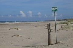 Niekończący się plaże obrazy stock