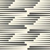 Niekończący się Prążkowana tapeta Halftone Graficzny projekt ilustracja wektor