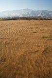 Niekończący się pustynia zdjęcia stock