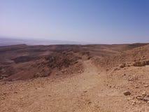 Niekończący się rozległość pustynia Fotografia Stock
