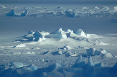 niekończące się antarktyda Zdjęcia Stock