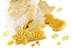 Niektóre bożych narodzeń ciastka Fotografia Royalty Free