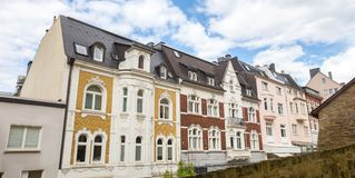 Niektóre budynki w siegen Germany zdjęcia stock