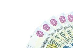 Niektóre hungarian forintów banknoty obraz stock
