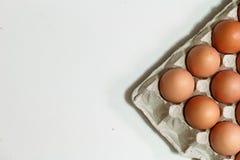 niektóre kurczaków jajka Zdjęcie Royalty Free