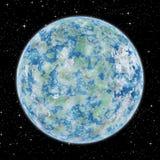Niektóre obca planeta w przestrzeni Zdjęcie Stock