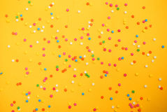 Niektóre słodcy cukierki rozprzestrzenia ciasto dla tła Obraz Royalty Free