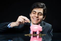 Niektóre savings dla przyszłości Zdjęcie Stock