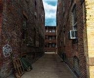 Niektóre ulica w Boston, Massachusetts Zdjęcia Stock