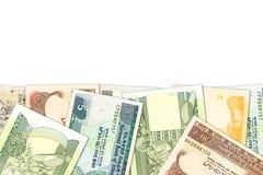 Niekt?re ethiopian birr banknoty z copyspace ilustruje narastaj?c? gospodark? i inwestycj? obraz stock
